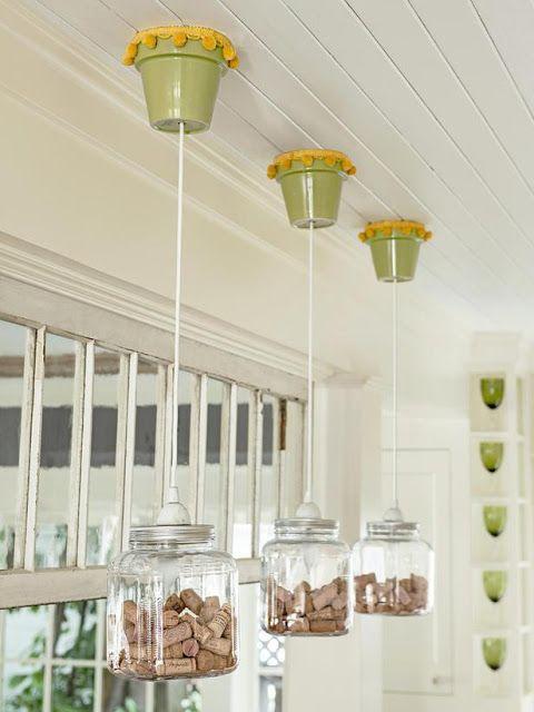 Reciclagem no meio ambiente casas decoradas com material - Como reciclar para decorar ...