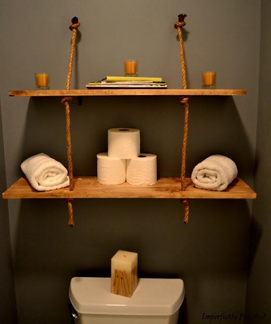 Reciclagem no meio ambiente o seu portal de artesanato - Estanterias rusticas de madera ...