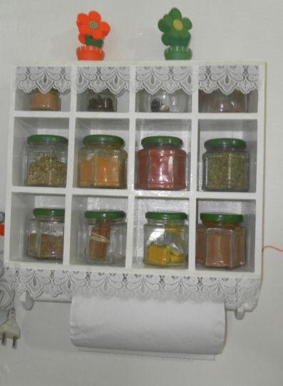 Como fazer porta temperos com reciclagem for O que e porta condimentos