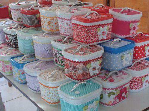 Se você reciclar potes de sorvete você pode conseguir peças que nem imaginava (Foto: Divulgação)