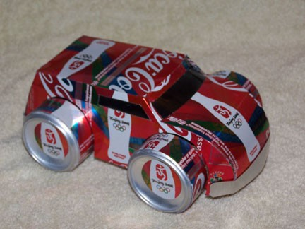 Reciclagem no meio ambiente o seu portal de artesanato for Things made out of tin cans