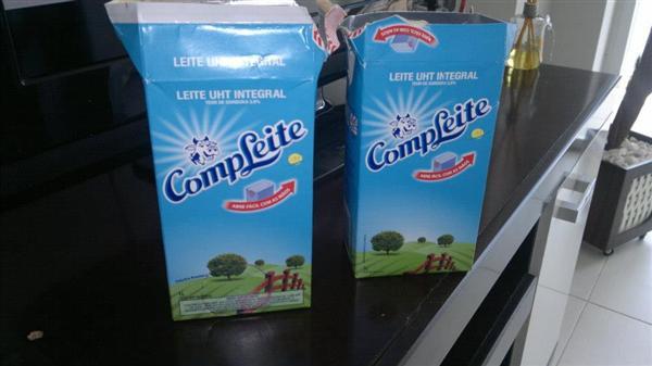 artesanato com caixa de leite (Custom)