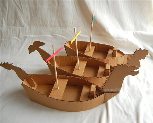How To Make Toy Boat With Cardboard 80