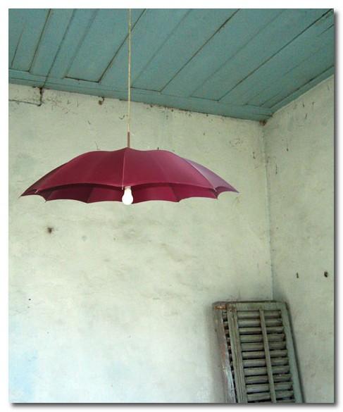 como reaproveitar guarda chuva
