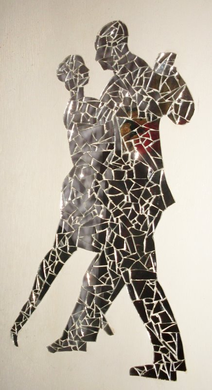 quadro vidro quebrado