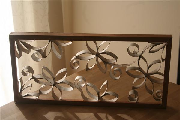 Reciclagem no meio ambiente quadro decorativo para casa for Mural decorativo pared