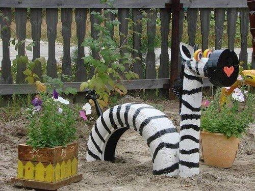 reciclagem no meio ambiente 10 imagens de animais feitos com pneus. Black Bedroom Furniture Sets. Home Design Ideas
