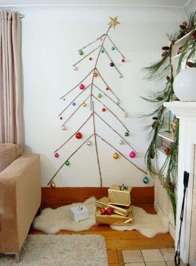 reciclagem no meio ambiente 11 enfeites de natal feitos com galhos secos. Black Bedroom Furniture Sets. Home Design Ideas