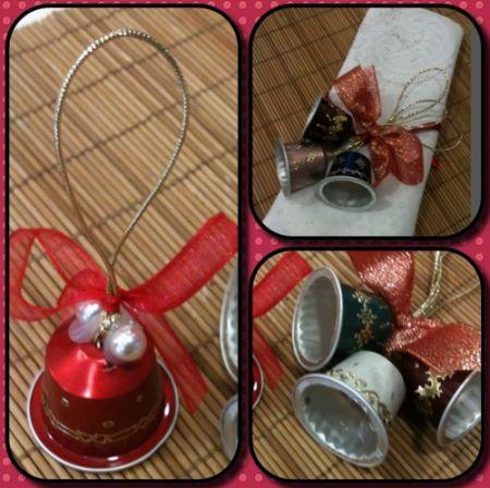 Reciclagem no meio ambiente o seu portal de artesanato - Que faire avec des capsules de cafe ...