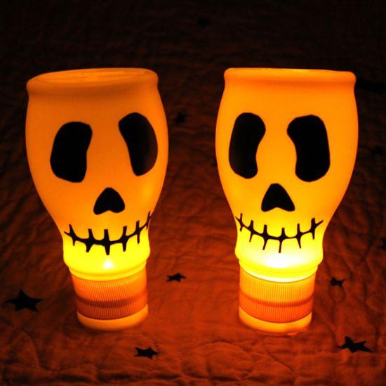 Com este enfeite de Halloween a sua festa ficara muito mais animada (Foto: dollarstorecrafts.com)