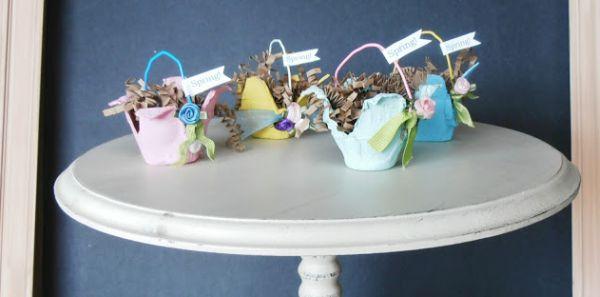 Não faltam ideias de reaproveitamento de caixa de ovos (Foto: creatingalifenow.blogspot.com.br)