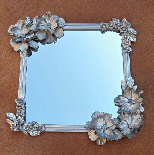 É possível reaproveitar flores artificiais velhas de modo sofisticado (Foto: dollarstorecrafts.com)