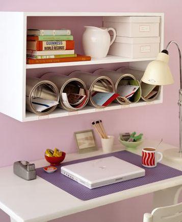 Ideias criativas de decoração com latas são perfeitas para quem não quer gastar muito no décor, mas quer peças bonitas (Foto: bystephanielynn.com)
