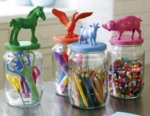 Reutilizar potes de maionese pode te trazer peças lindas e funcionais (Foto: naturaejequiti.jimdo.com)