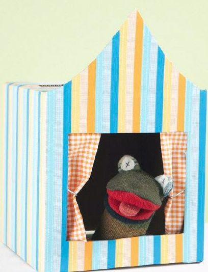 Brinquedos feitos de papelão podem ser bem divertidos e muito interessantes (Foto: apartmenttherapy.com)
