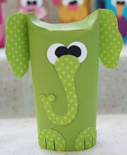 Animais feitos com papel são simpáticos e muito fofinhos (Foto: creativemeinspiredyou.com)