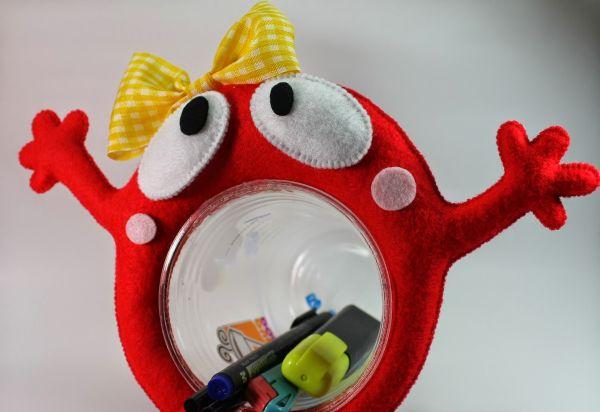 Este bichinho porta-treco divertido também pode ser a solução para o seu orçamento apertado, caso você o comercialize (Foto: nupinupi.com)