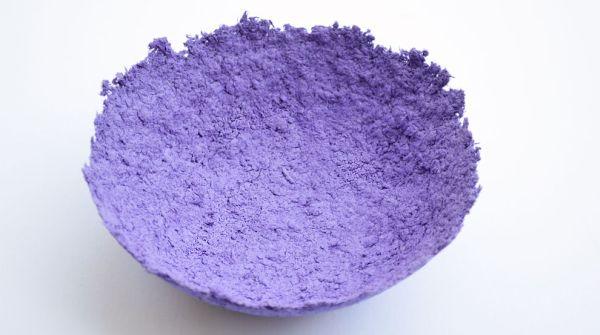 Artesanato Ou Artesanato ~ Reciclagem no Meio Ambiente Tigela de Papel Mach u00ea com Caixa de Ovo Passo a Passo