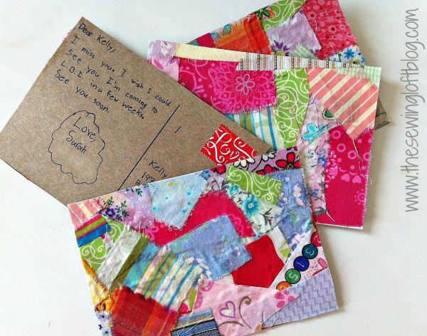 Cartão postal caseiro pode se transformar em uma divertida surpresa para os seus entes queridos (Foto: skiptomylou.org)