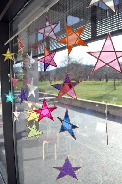 reciclagem no meio ambiente estrelas decorativas feitas