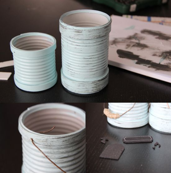 reciclagem no meio ambiente como reaproveitar latas de leite condensado. Black Bedroom Furniture Sets. Home Design Ideas
