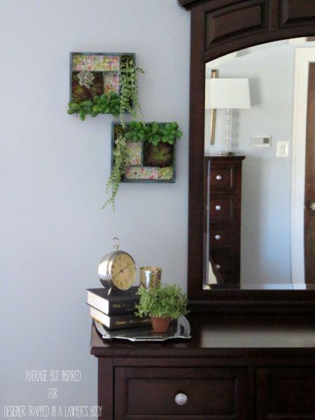 Jardim de suculentas com material reutilizado é lindo e repagina rapidamente os seus espaços (Foto: designertrapped.com)