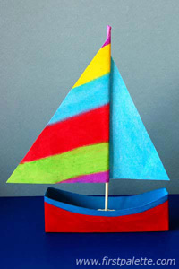 Este miniveleiro de papel reutilizado pode ter as cores que você quiser (Foto: firstpalette.com)