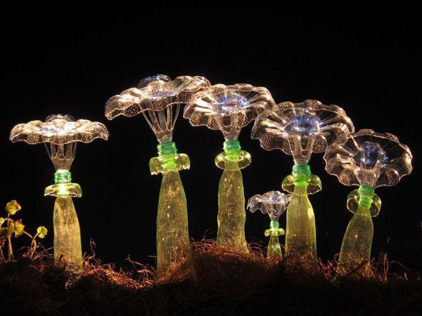 Há muitas ideias de artesanatos diferentes com reciclagem de garrafa pet para fazer, coloque a sua criatividade para trabalhar (Foto: designrulz.com)