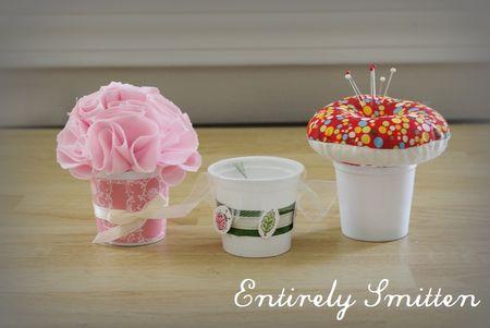 Faça ao menos uma destas ideias simples para reaproveitar copos descartáveis (Foto: entirelysmitten.typepad.com)