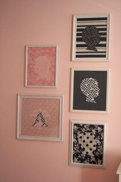 Esta ideia para reaproveitar molduras na decoração é diferente, mas linda e diferenciada  (Foto: mydesigndump.blogspot.com.br)