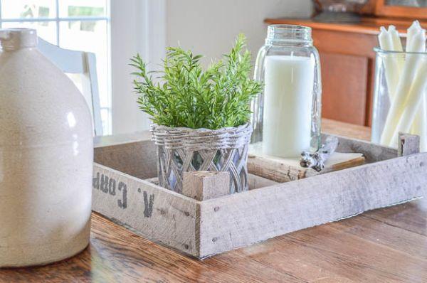 Esta ideia para fazer bandeja de material reciclado é linda e sustentável (Foto: andersonandgrant.com)