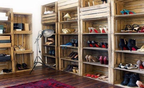 Sapateiras feitas com material reciclável são lindas e sustentáveis (Foto: eco-ideasreciclaje.blogspot.com.br)