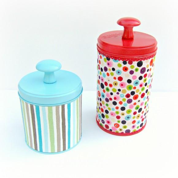 Reaproveitar latas de biscoito é muito fácil (Foto: dollarstorecrafts.com)