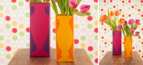 Esta ideia simples de como reciclar caixa de suco vai repaginar o visual de sua casa (Foto: casa.abril.com.br)