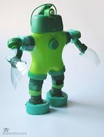 Ideias Criativas De Robôs Feitos Com Material Reciclado