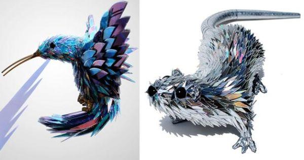 Escolha as ideias de artesanato com CD velho que você mais gostar (Foto: lushome.com)