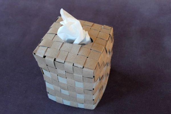 Este artesanato com caixa de cereal vai deixar a sua mesa de trabalho mais charmosinha (Foto: jsonline.com)