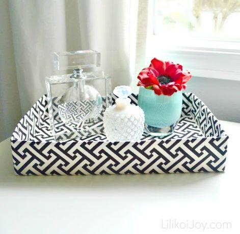 É muito fácil reaproveitar caixas de papelão e conseguir uma linda peça (Foto: lilikoijoy.com)
