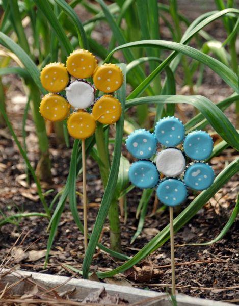 Esta reciclagem com tampinha de metal é linda e sustentável (Foto: suburbia-unwrapped.com)