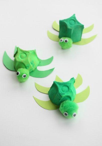 Esta fofa reciclagem de caixa de ovos de papel faz a alegria dos pequenos (Foto: emmaowl.com)