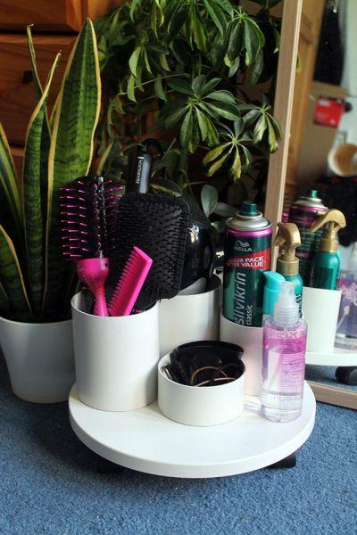 Este artesanato com canos de PVC é funcional, mas também muito lindo (Foto: nowthatspretty.blogspot.com.br)