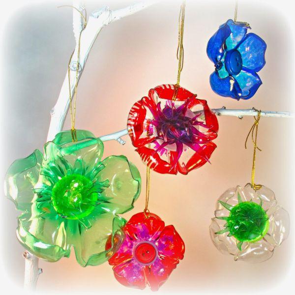 Reciclagem com garrafa pet pode resultar até em peças para o seu visual (Foto: blukatkraft.blogspot.com.br)