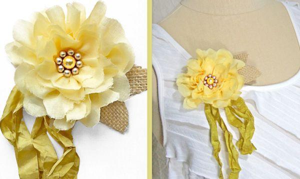 Invista já nesta linda reciclagem de pedaços de tecido (Foto: sew4home.com)