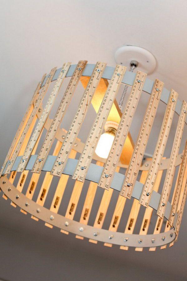 Invista já em alguma das muitas ideias de reciclagem com régua de madeira (Foto: notedlist.com)