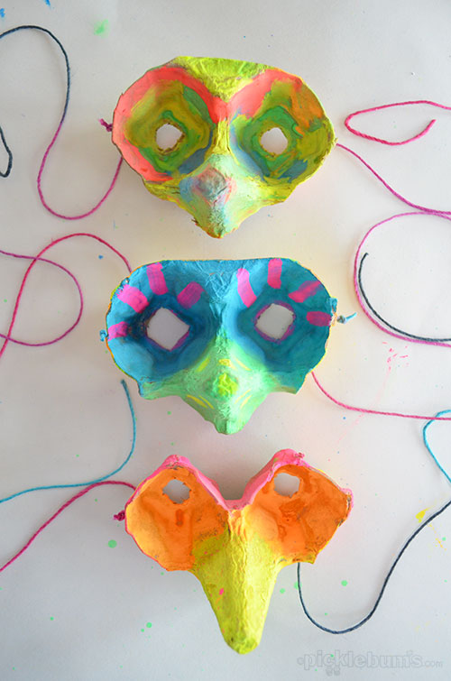 Máscara com Caixa