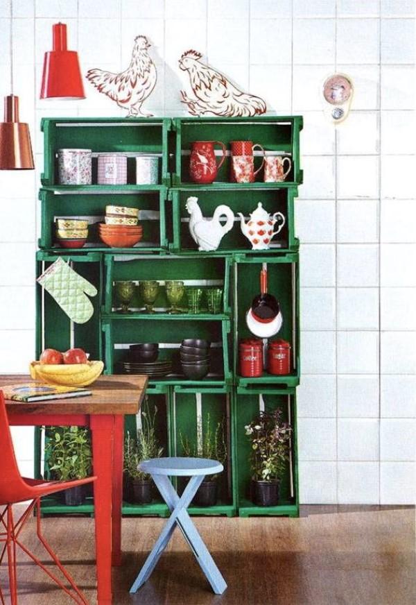 como-usar-caixotes-de-madeira-da-cozinha