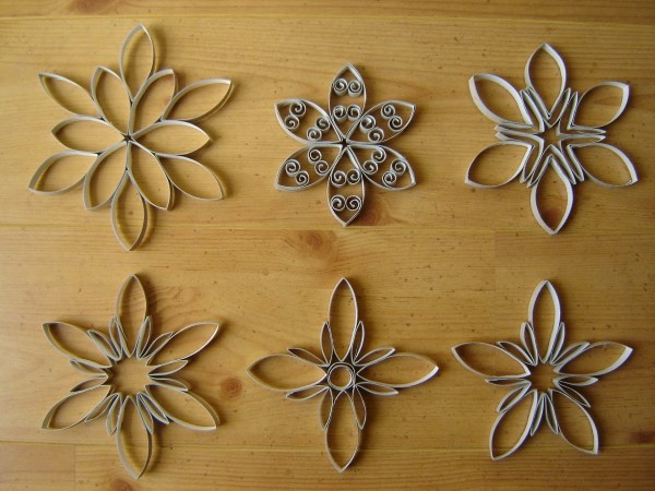 flor reciclada com papelão (Custom)