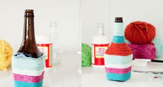 artesanatos com garrafas reaproveitadas