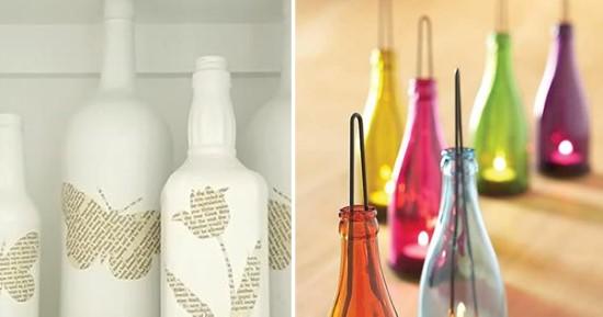 artesanatos reaproveitando garrafas