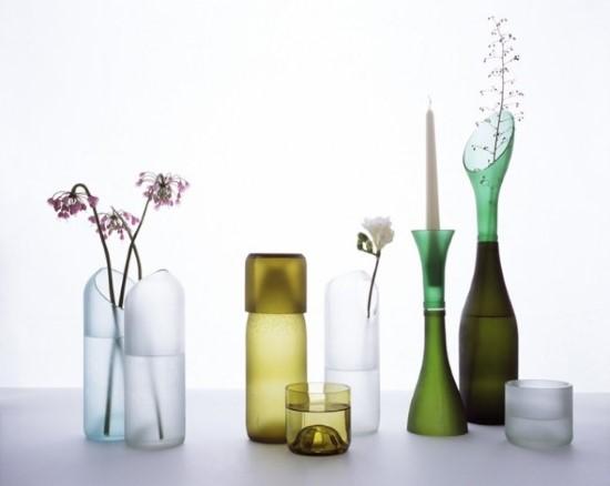 ideias de artesanatos para fazer com garrafas de vidro